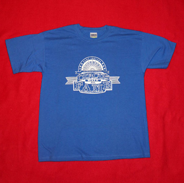 Circus Hall of Fame - Blue T-Shirt - Large Youth