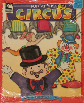 Fun at the Circus - Child's Paperback book