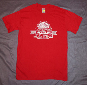 Circus Hall of Fame - Red T-Shirt - Small Child